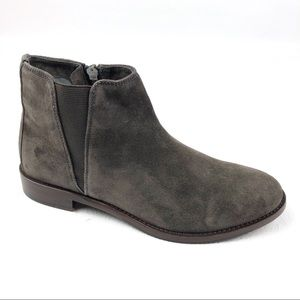 JOHNSTON MURPHY Leslie ankle boots 7 gray suede